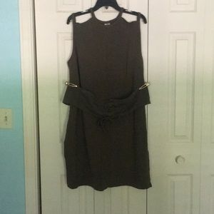 Removable Belt Dress